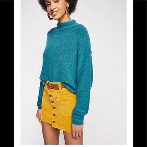 Free People Joani Corduroy Skirt